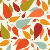Patrones sin fisuras con hojas de otoño — Vector de stock