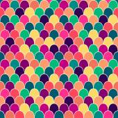 Seamless pattern with colorful scales — Stockvektor