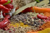 Spices. Food And Cuisine Ingredients. — Stock Photo