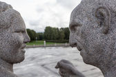 Gustav Vigeland sculptures in Frogner Park. Oslo. Norway. — Foto Stock