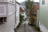 In Bergen. Norway — Stock Photo