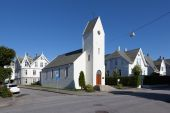 Church. Haugesund. Norway. — Stock Photo