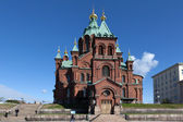 Cathedral of the Assumption. Helsinki. Finland. — Stock Photo
