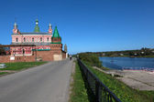 Staroladozhsky Nikolsky Monastery. Russia. — Stock Photo