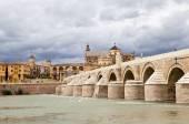 Roman Bridge (Puente romano de Córdoba). Cordova. Spain — Stock Photo