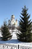Church of the Savior on Blood in Yekaterinburg, Russia. — Stock Photo