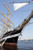 "Four-masted barque ""Krusenstern"". Saint Petersburg. Russia. — Stock Photo"