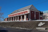 Upper Provision warehouses. City Nizhny Tagil. Sverdlovsk region. Russia. — Stock Photo