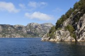 Landscape near Lysefjord. Norway. — Stock Photo