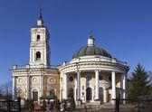 ST. PETERSBURG, RUSSIA - APRIL 18, 2015: Photo of Church of the Svyatógo Proróka Elijah on a powder. — Stock Photo