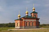 圣尼古拉教堂在 putimke。verkhotursky 地区。斯克地区. — 图库照片