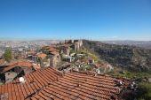 Ak-Kala fortress on the hill Hissar. Ankara. Turkey. — Stock Photo