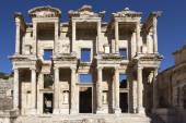 Ephesus, Turkey. Facade of the Library of Celsus — Stock Photo