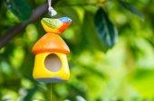Ptak lalka — Zdjęcie stockowe