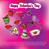 Images for Valentine's Day — Stock Vector