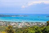 Phuket island scene from Big Buddha View point — Stock Photo