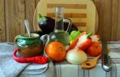 Ortaggi maturi per cucinare ricetta — Foto Stock