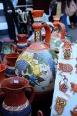 Chisinau, Moldova, 10.14.2014,For sale ceramic products at the celebration of the city Chisinau — Stockfoto