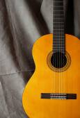 Classical guitar close up — Stock Photo