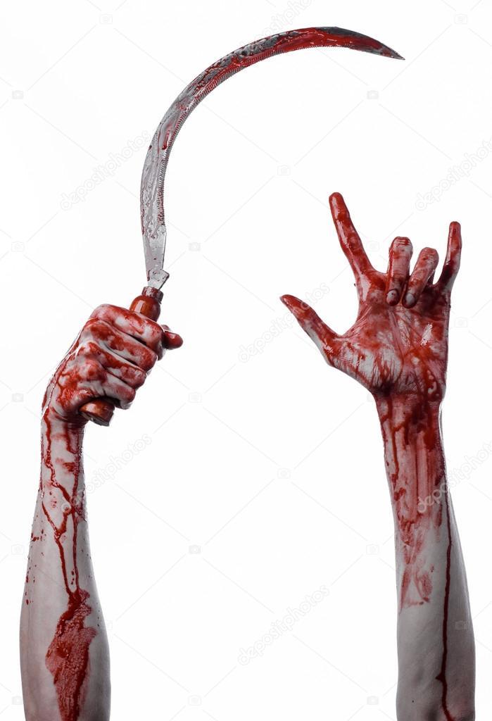 Кровавая рука фото