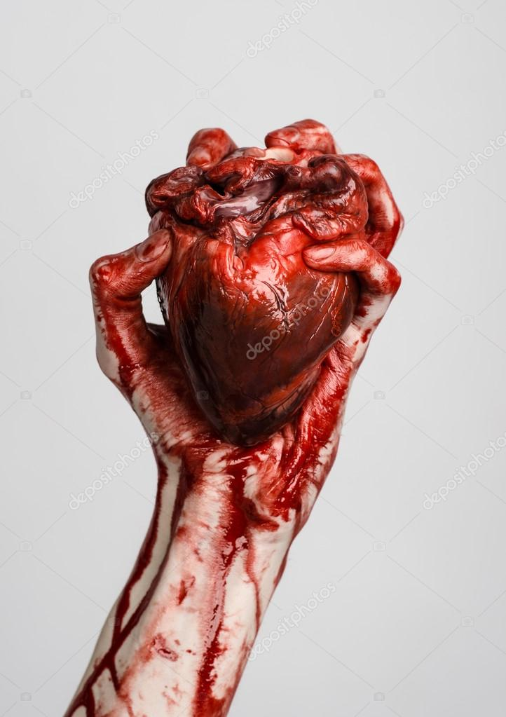Real broken heart photo