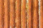 Old rusty corrugated iron texture — Stock Photo