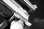 Mono Ionic capital at corner of Erechtheion — Stock Photo