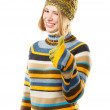 Cold season fashion — Stock Photo #56812345