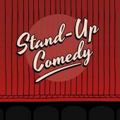 Stand up comedy — Stock Vector