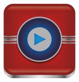 Arrow button icon — Stock Vector