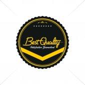 Vintage style quality badge — Vector de stock