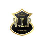 Vip member badge — Stockvector