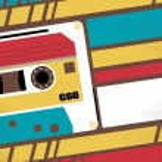 Old School Stereo Walkman Tape Cassette Player — Stock Photo #68758309