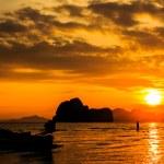 Sweetheart and sunrise — Stock Photo #61327069