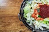 Seasoning of korean food — Stock Photo