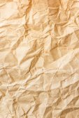 Old brown crumpled paper — Stock Photo