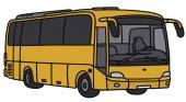 Ônibus amarelo — Vetor de Stock
