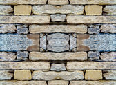 The laying of natural stone, repeating pattern — Stock Photo