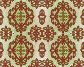 Geometric pattern on fabric — Stock Photo