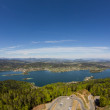 View From Observation Tower To Lake Woerth — Stock Photo #71032865