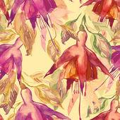 Fuchsia Seamless Pattern — Stock Photo