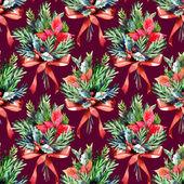 Christmas Seamless Pattern — Stock Photo