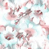 Naadloze bloemmotief — Stockfoto