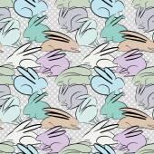 Bunnies seamless pattern — Zdjęcie stockowe