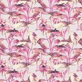 Lonicera Seamless Pattern — Stock Photo