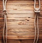 Corda con nodi — Foto Stock