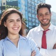 Modern business team in the city — Stock Photo #80268720