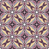 Seamless Ornate Ethnic Pattern — Vetor de Stock