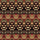 Бесшовный фон абстрактный племенных — Cтоковый вектор