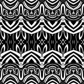 Seamless Abstract Tribal Pattern — Stockvector